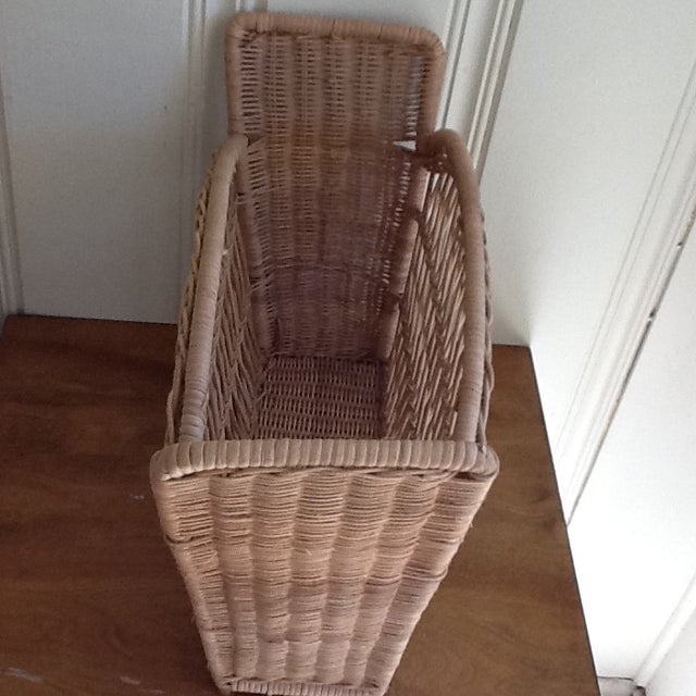 Natural Wicker File Basket - Image 4 of 8