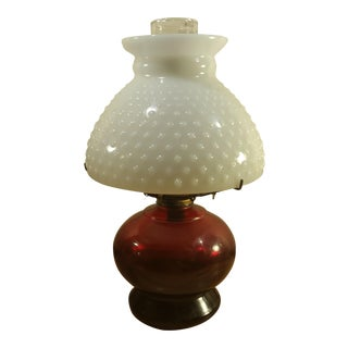 Ruby Red Oil Lamp