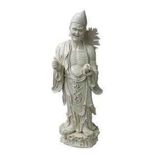 Chinese Porcelain Chan Master Daoji Buddha Beggar Figure