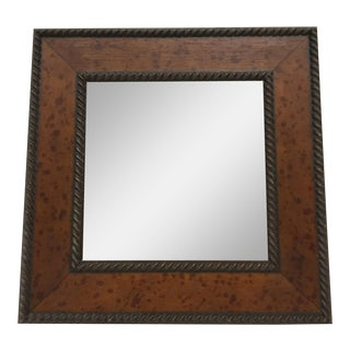 Maitland-Smith Wood Framed Wall Mirror
