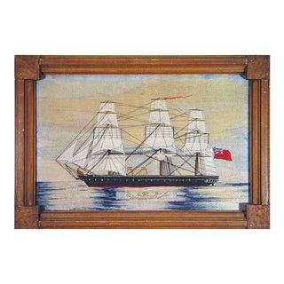 British Sailor's Woolwork or Woolie of H.M.S. Black Prince