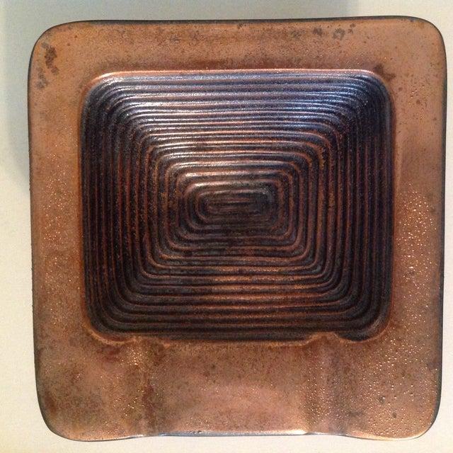 Ben Seibel Copper Square Ashtray - Image 3 of 6