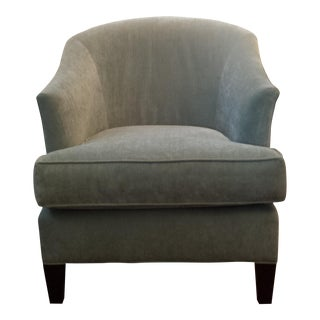 Mitchell Gold Light Gray Tub Club Chair