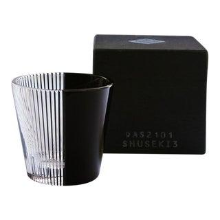 "Edo Kiriko Glass ""Shuseki"" Tabane"