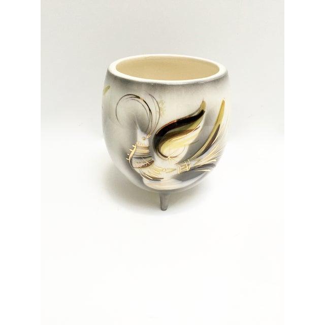 Mid-Century Sascha Brastoff Firebird Vase, Signed - Image 4 of 9