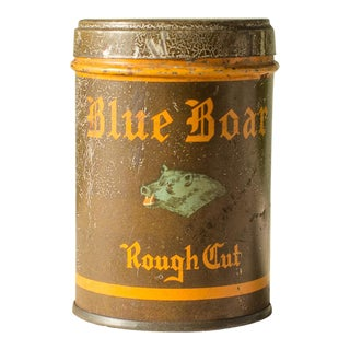Blue Boar Tobacco Tin c.1930s