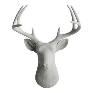 Wall Charmers Faux Taxidermy Gray Mount Bust