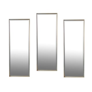 Three Silver Leafed Tommi Parzinger Mirrors