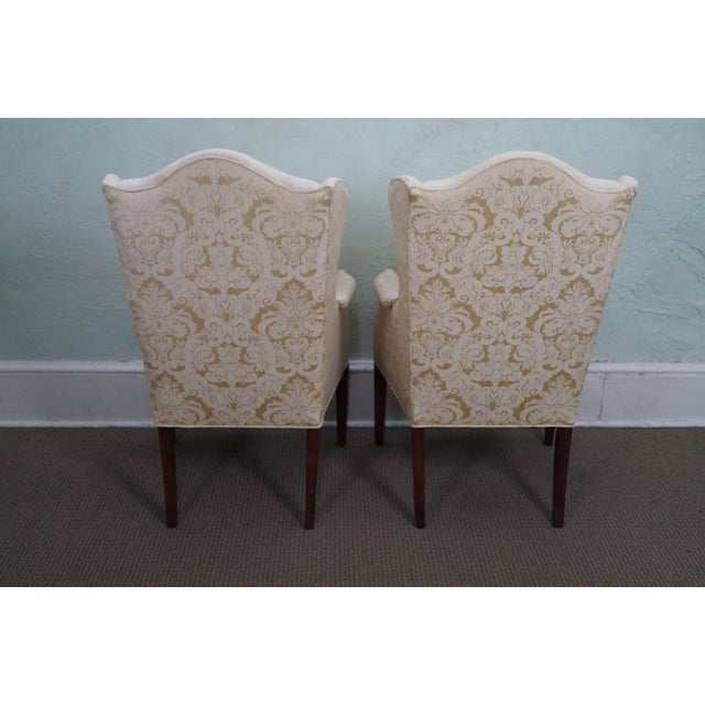 Kindel Mahogany Chippendale Style Chairs - A Pair - Image 4 of 10