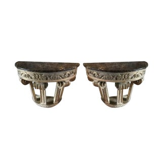 Italian Wall Mounted Capitals- A Pair