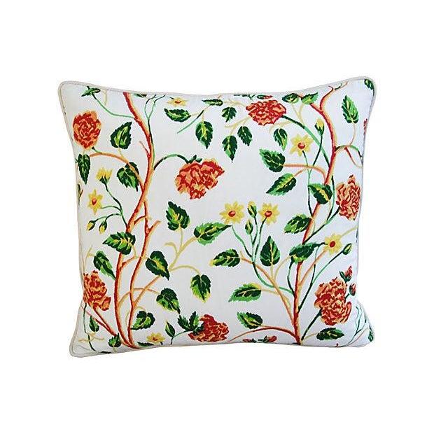 Custom Scalamandre William & Mary Pillows - Pair - Image 6 of 8