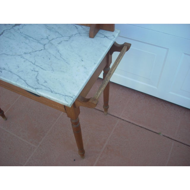Victorian Marble Top Wash Stand - Image 5 of 8