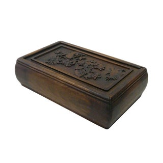 Chinese Huali Rosewood Handcrafted Storage Box