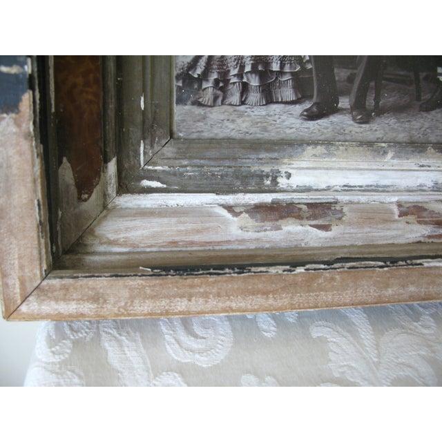 Image of Antique Framed Cabinet Photo