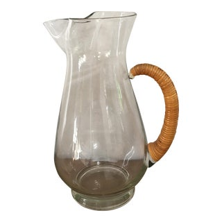 Mid-Century Carl Aubock Glass Pitcher