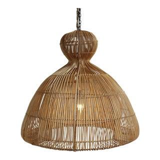 Mushroom Rattan Lantern