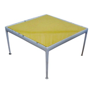 Richard Schultz Yellow Patio Table Coffee Table