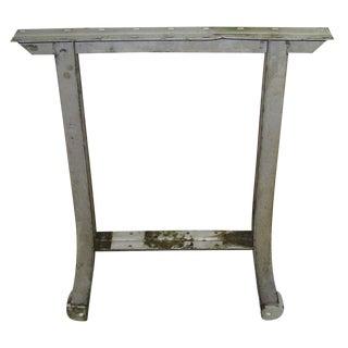 1950's Metal Industrial Table/Desk Leg