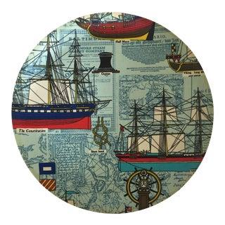 Mid-Century Nautical Serving Platter