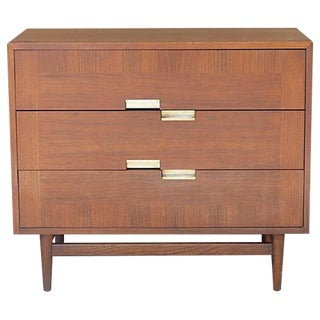 1960's American of Martinsville Walnut Dresser