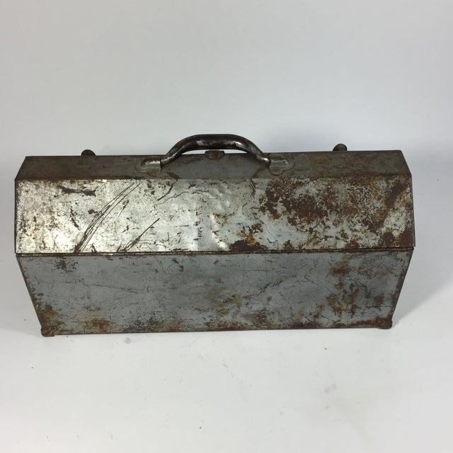 Vintage Industrial Toolbox - Image 6 of 8