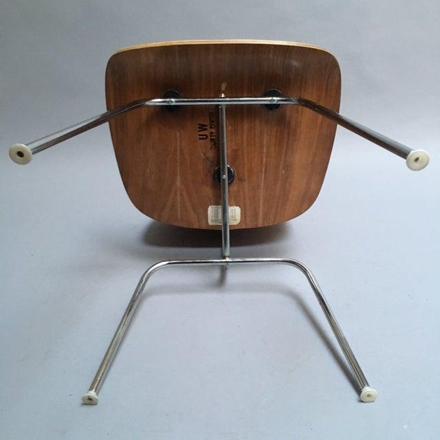 "Vintage Herman Miller Walnut ""DCM"" Chair - Image 5 of 6"