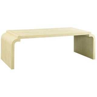 Jean Michel Frank Style Waterfall Coffee Table