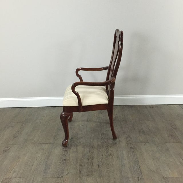 Chippendale Wood Dining Chairs - Set of 8 - Image 8 of 9