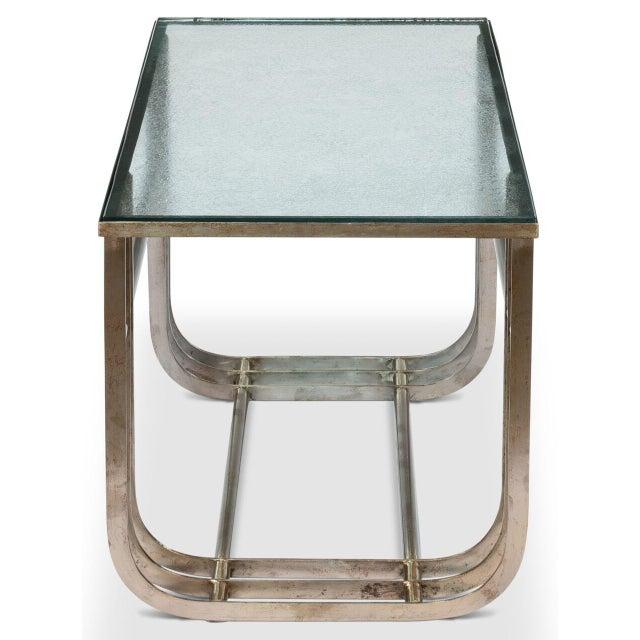 Image of Sarreid LTD Donald Deskey Style Table