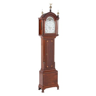 English Traditional Tall Case Clock