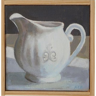 """Creamer"" Original Painting by Anne Carrozza Remick"