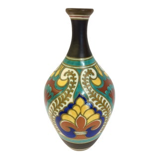 1930s Ivora Gouda Holland Pottery Vase
