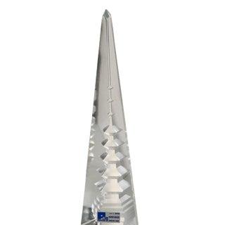 1970s Cartier Crystal Pagoda Obelisk - A Pair
