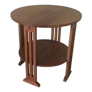 Stickley Mission Cherry Table