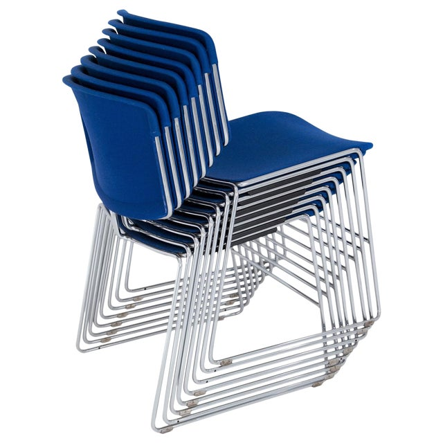 Steelcase Max Stacker Chairs - Set of 8 - Image 1 of 10