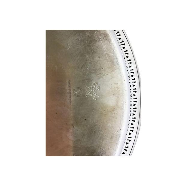 English Barker Ellis Silver Plate Bowl Chairish