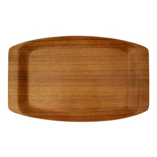 Japanese Mid-Century Modern Bent Ayous Plywood Tray