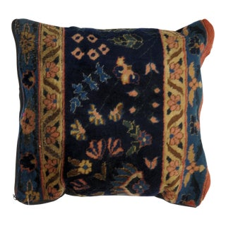 Leon Banilivi Antique Persian Rug Fragment Pillow