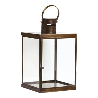 Iron and Glass Lantern