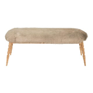 Sarreid LTD 'Winoma' Beige Bench