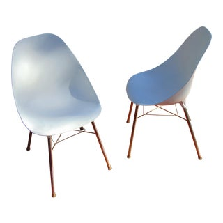 Eames Style Shell Chairs - A Pair