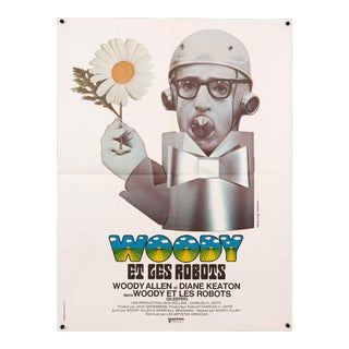 Woody Allen 1974 'Sleeper' French Film Poster