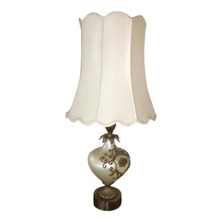 Vintage Pearl Base Lamp