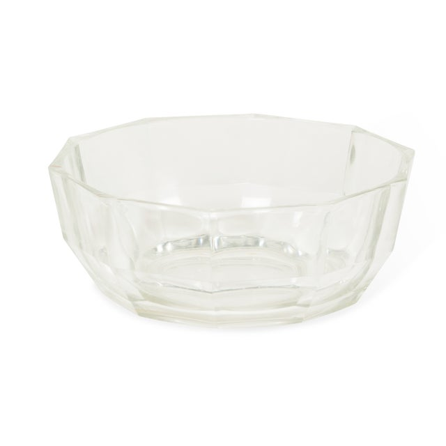 1960s Italian Crystal Decagonal Bowls - A Pair - Image 2 of 8