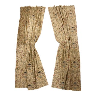 """Ralph Lauren """"Provence"""" Lined Curtains - A Pair"""