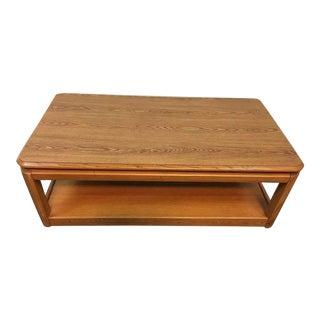 Laminate Oak Coffee Table