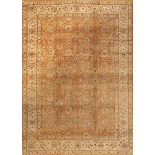 "Antique Persian Tabriz Rug- 11'2"" x 15'4"""