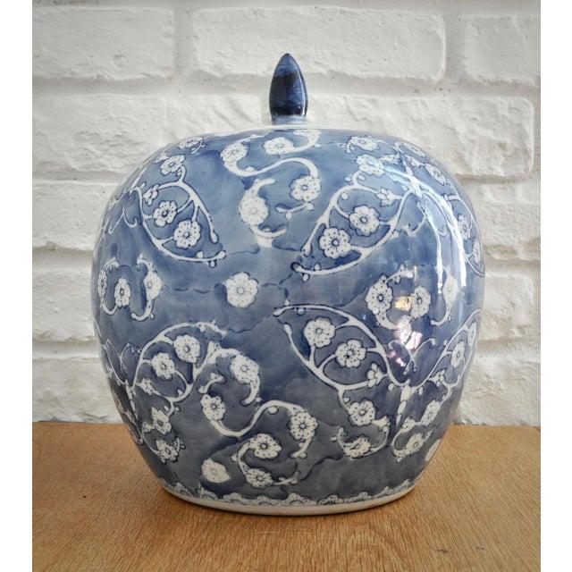 Blue & White Chinese Ginger Jar - Image 2 of 5