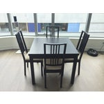 Image of Espresso Extendable Dining Set