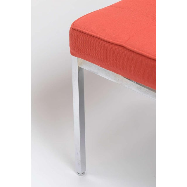 Florence Knoll Stainless Steel Bench - Image 6 of 9